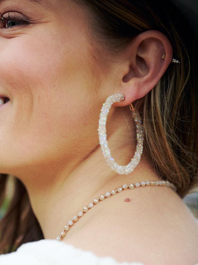 Moonstone Earrings - Altar'd State