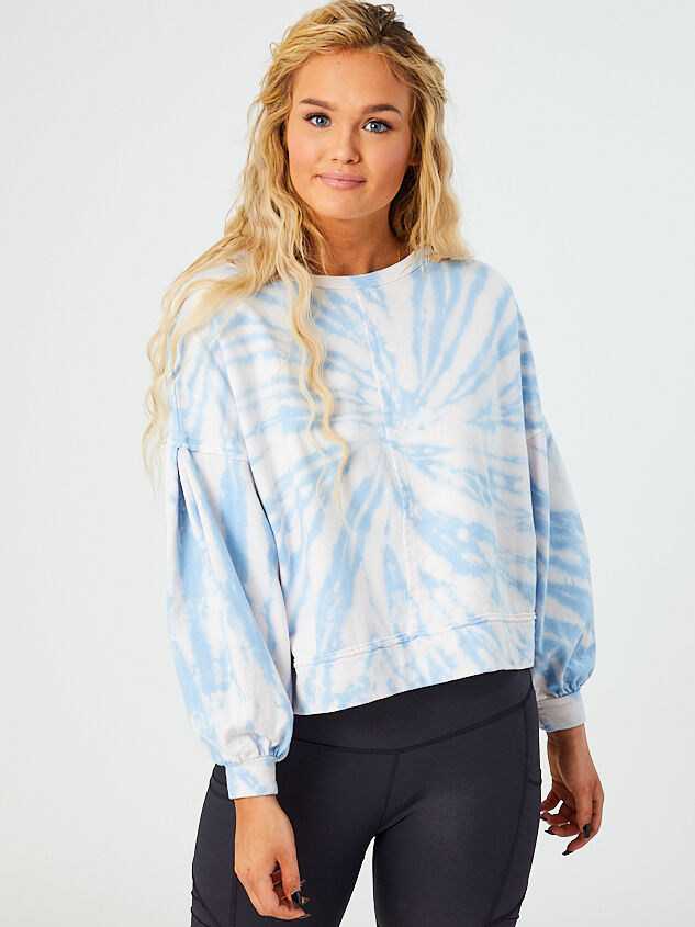 Haven Tie Dye Top Detail 2 - Altar'd State