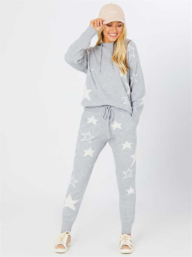 Oh My Stars Lounge Pants Detail 2 - Altar'd State