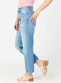 Kate Straight Leg Jeans Detail 4 - Altar'd State
