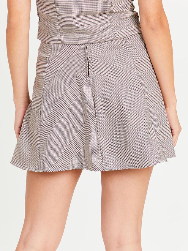 Eve Plaid Skirt Detail 4 - Altar'd State