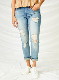 Loosen Up Jeans Detail 6 - Altar'd State