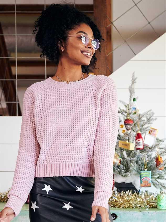 Aurora Chenille Sweater - Altar'd State