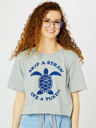 Save a Turtle Top - Altar'd State