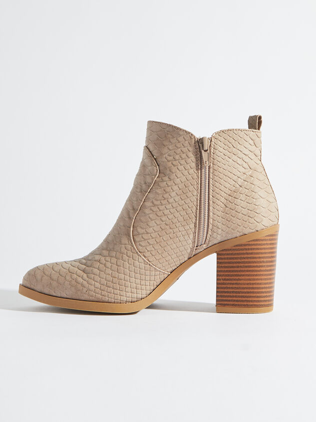 Kolby Booties - Taupe Detail 3 - Altar'd State