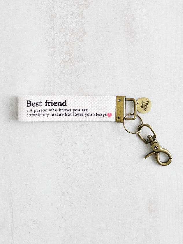 Best Friend Keychain - Altar'd State