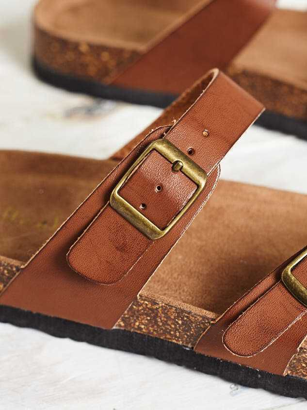 Bork Double Buckle Sandals Detail 2 - Altar'd State