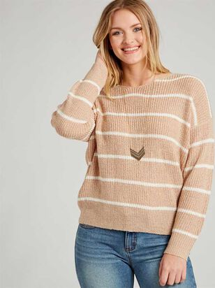 Mina Sweater - Striped - Altar'd State