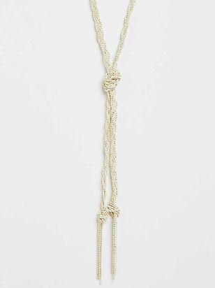 Braids and Tassels Necklace - Altar'd State