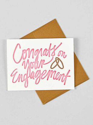 Vow'd Congrats on Your Engagement Card - Altar'd State