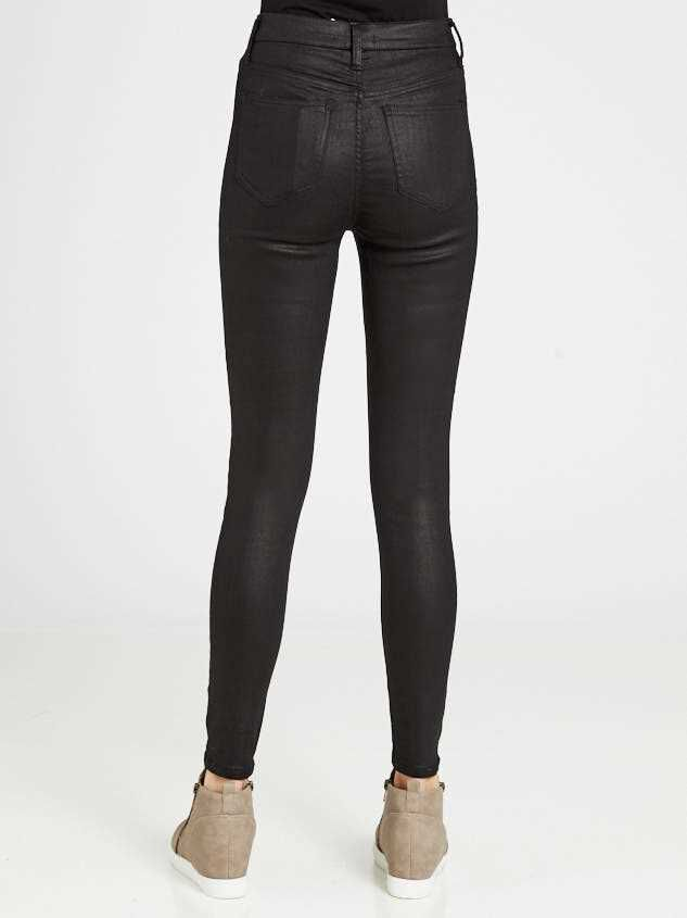 Coated Skinny Jeans Detail 4 - Altar'd State