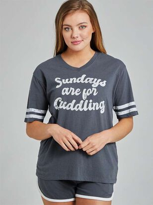 Sundays are For Cuddling Sleep Set - Altar'd State