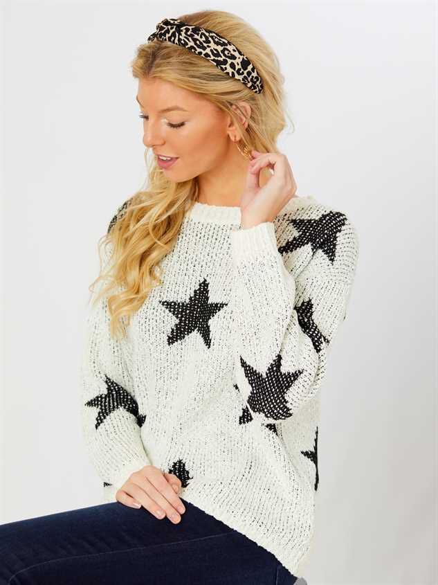 MacKinsley Star Sweater - Altar'd State