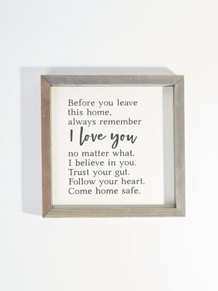 Always Remember I Love You Wall Art - Altar'd State