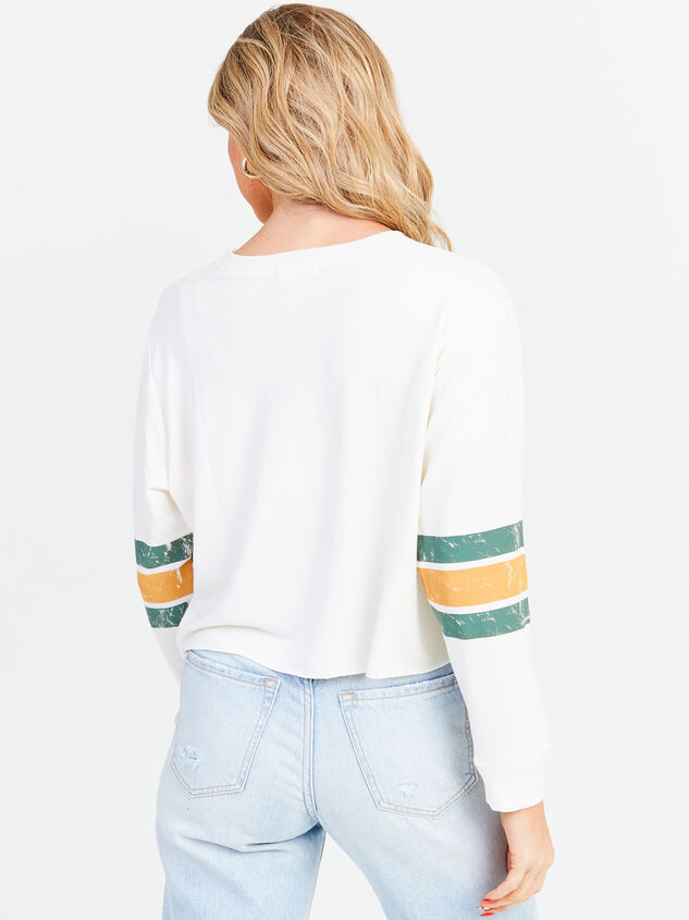 Jersey Cropped Long Sleeve Tee Detail 3 - Altar'd State