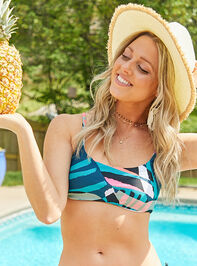 Crystal Cove Bandeau Bikini Top - Altar'd State