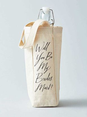 Vow'd Will You Be My Bridesmaid Bottle Tote - Altar'd State