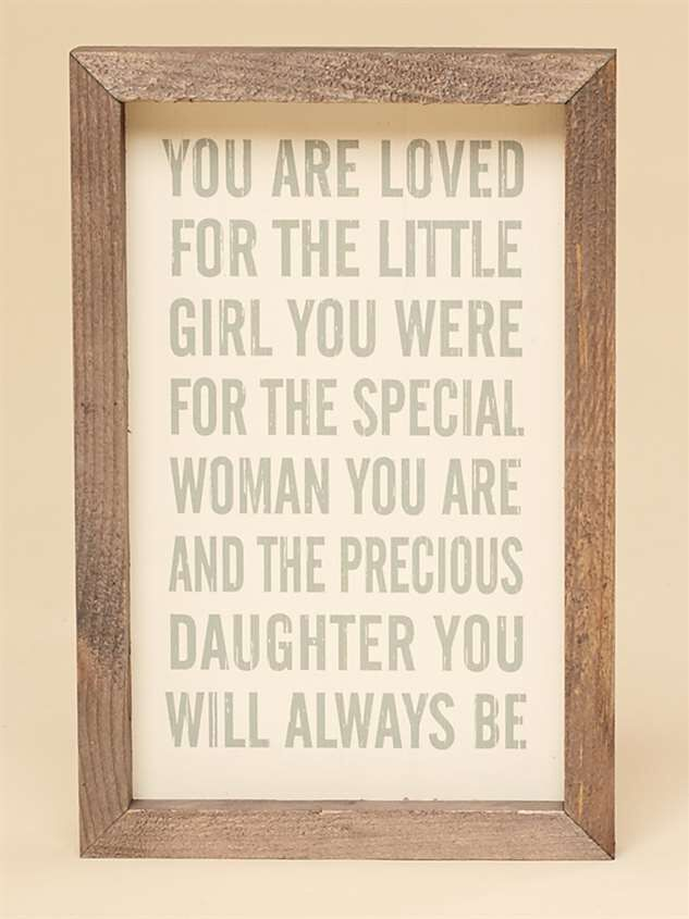 You are Loved Wall Art - Altar'd State