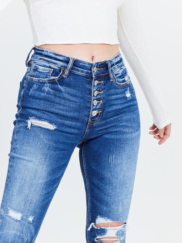 Haylie Skinny Jeans Detail 5 - Altar'd State