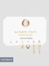 Tina Mini Hoop Set - Altar'd State