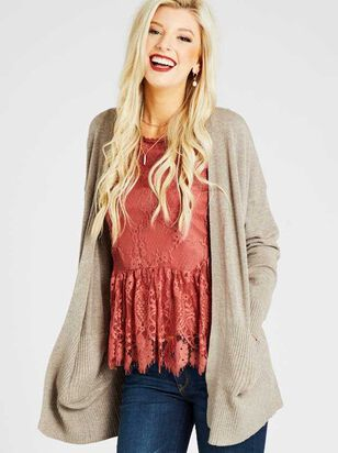 Cozy Comfort Cardigan Sweater - Altar'd State