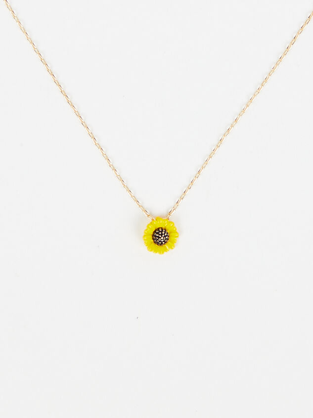 Sunflower Dreams Necklace - Altar'd State