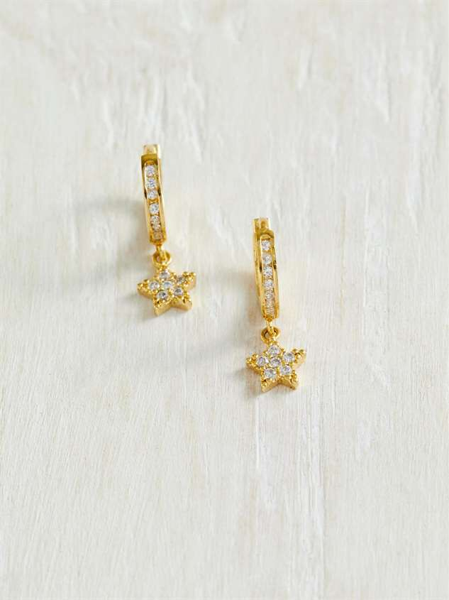 18K Gold Dipped Star Earrings - Altar'd State