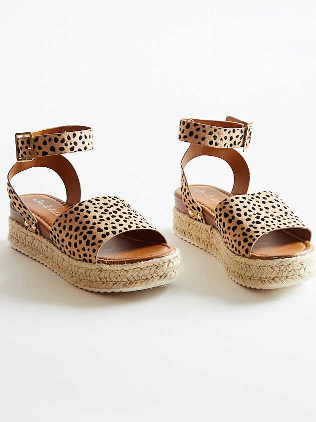 Seeing Spots Sandals - Altar'd State