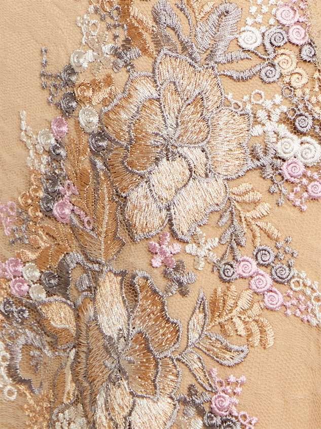 Angelique Maxi Dress Detail 5 - Altar'd State
