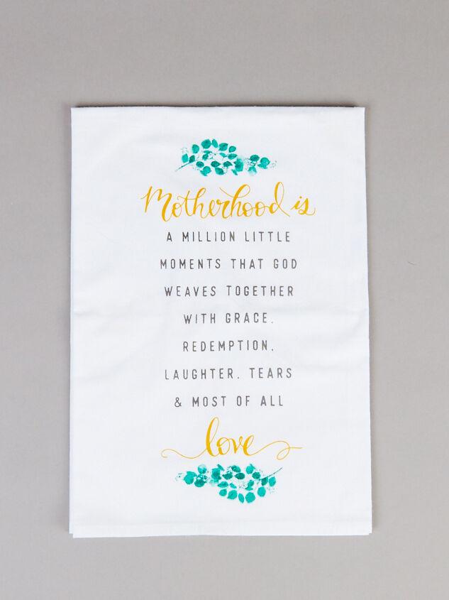 Motherhood is Love Hand Towel - Altar'd State