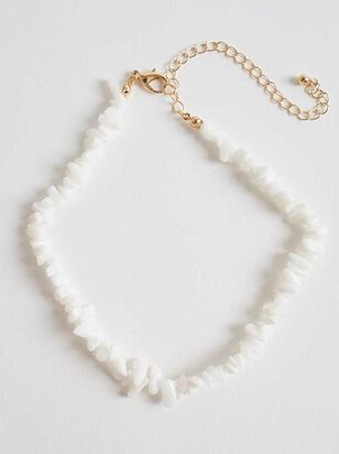 Tahiti Necklace - White - Altar'd State
