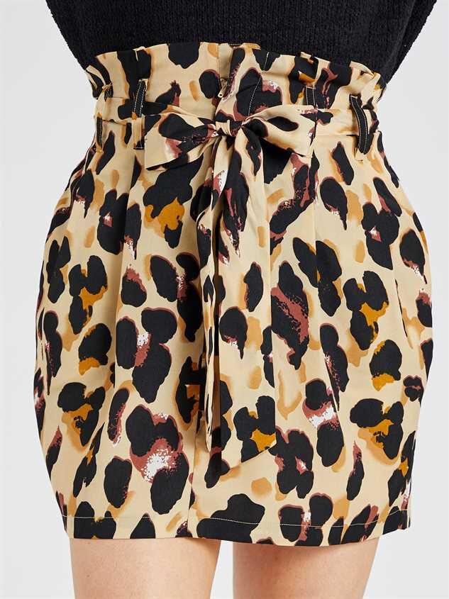 Leopard Skirt Detail 3 - Altar'd State