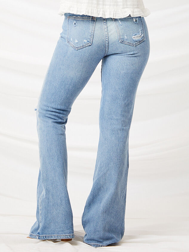 Galveston Flare Jeans Detail 6 - Altar'd State