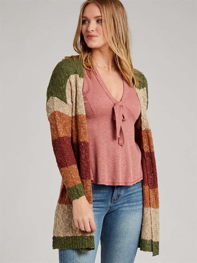 Tori Cardigan Sweater Detail 2 - Altar'd State