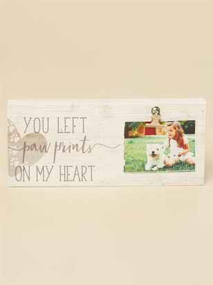 Paw Prints on My Heart Clip Frame - Altar'd State