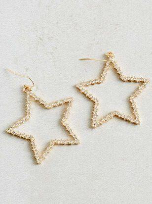 Crystal Star Earrings - Altar'd State