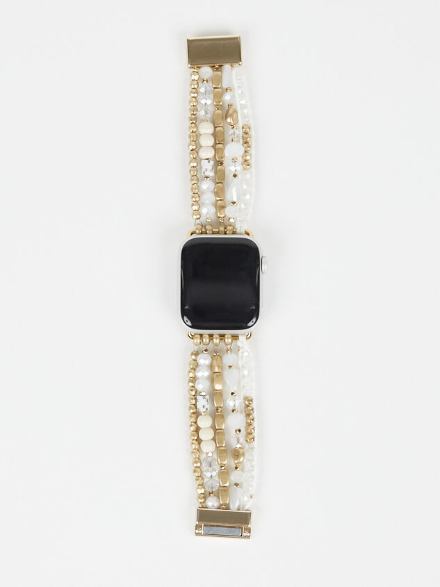 Neutral Beaded Smart Watch Band - Altar'd State