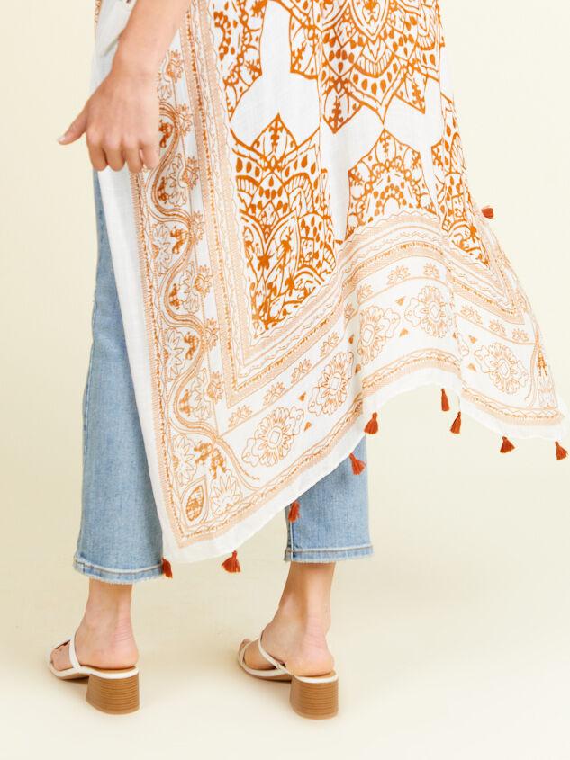 Peachy Keen Kimono Detail 4 - Altar'd State