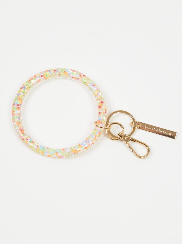 Spread Kindness Glitter Ring Keychain - Altar'd State