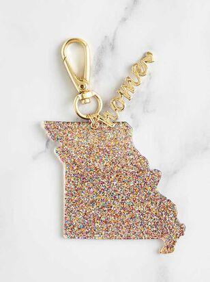 Home Glitter Keychain - Missouri - Altar'd State