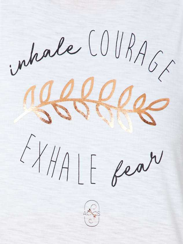Revival Inhale Courage Tank Detail 4 - Altar'd State