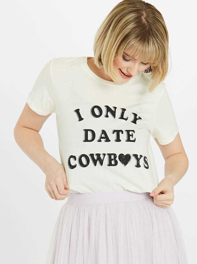 Only Date Cowboys Top - Altar'd State