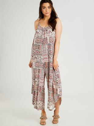 Printed Quinn Jumpsuit - Altar'd State