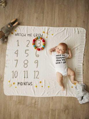 Tullabee Watch Me Grow Milestone Blanket - Altar'd State