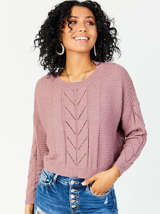 Hester Sweater Detail 1 - Altar'd State