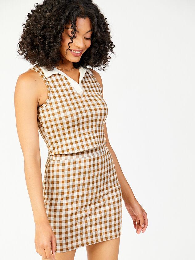 Get a Clue Skirt Detail 5 - Altar'd State