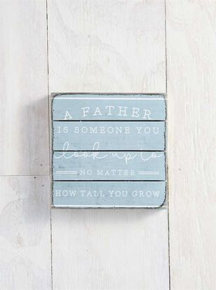 Father Look Up to Pallet Sign - Altar'd State