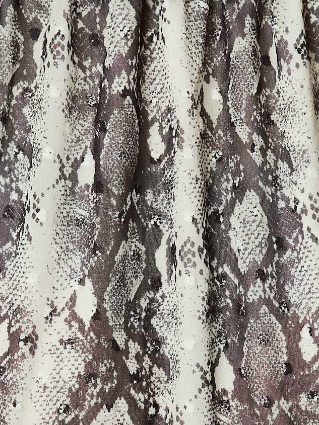Eliza Snakeskin Dress Detail 4 - Altar'd State