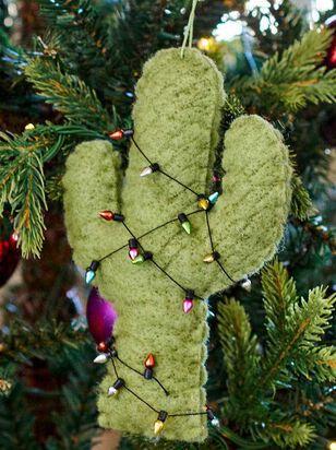 Felt Cactus Ornament - Altar'd State