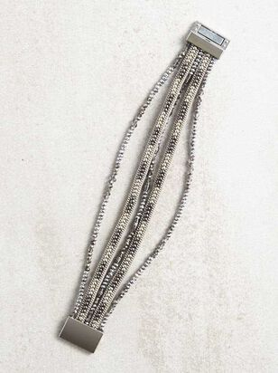 Jade Beaded Bracelet - Altar'd State